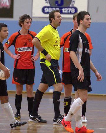 2012 1117 - Futsal PL Sydney City v Phoenix