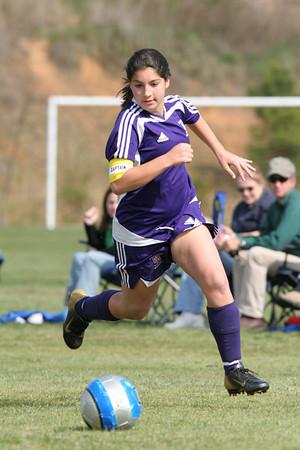 DMS Girls Soccer 4-13-2007