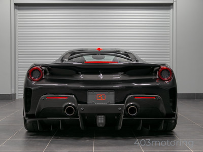 '19 488 Pista - Nero Daytona