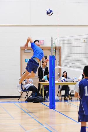 20101109 Sr Boys Volleyball