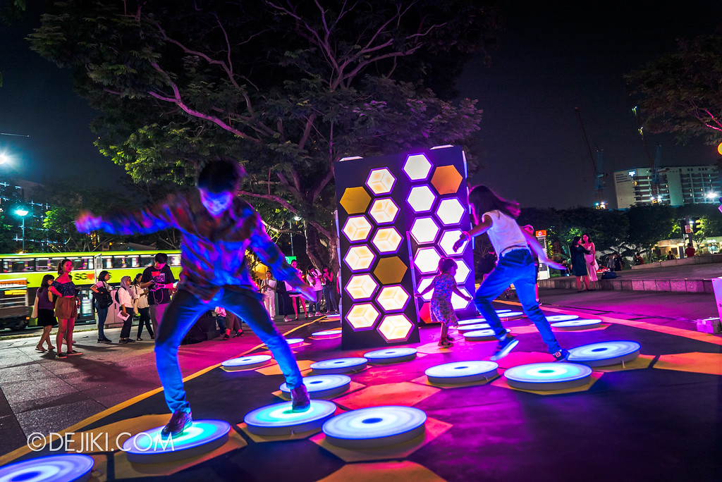 Singapore Night Festival 2018 - Night Lights / The Leap of Faith by Teng Kai Wei 1 overview