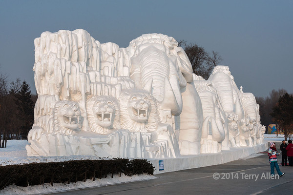 Harbin Snow Sculpture Festival