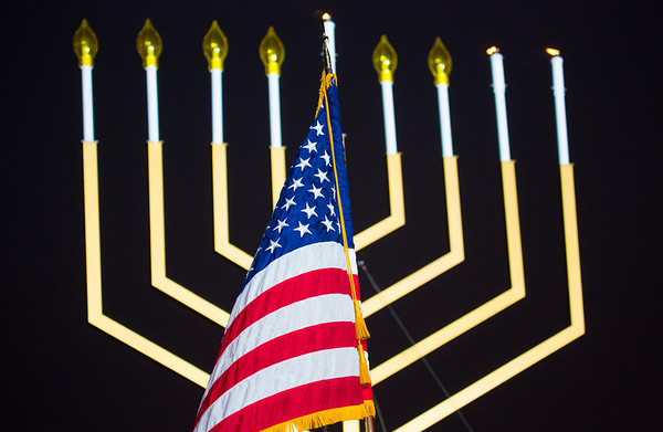 National Menorah Lightings