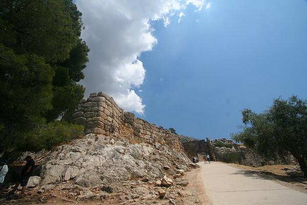 Ancient Ruins of Mycenae - 7/4/2009