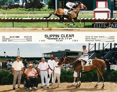 SLIPPIN CLEAR - 8/01/1998