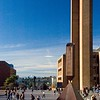 Red Square and Odegaard Undergraduate Library