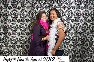 New Year 2012 Photo Booth