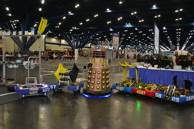 2016 - Cosplay and FRC robots
