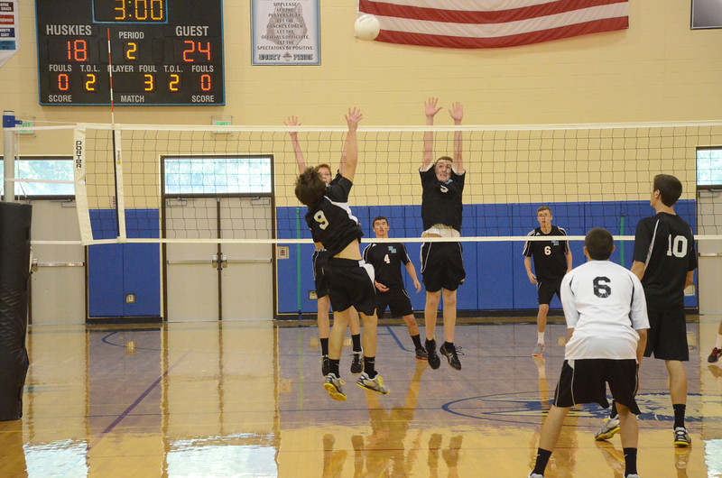 Varsity Boys Volleyball September 6 vs Harford Tech
