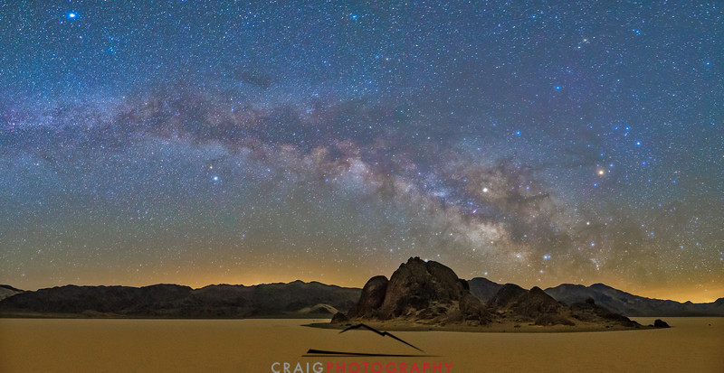 Milky Way over Death Valley 3