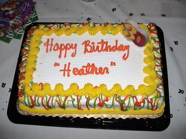 2003/02/15 - Heather's Surprise Birthday