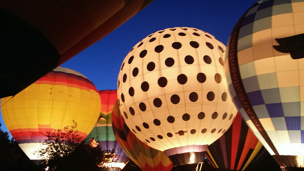 Larosa's Balloon Glow @ Coney Island - 3 July '14