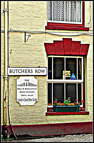 Windows on Butcher's Row
