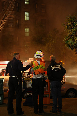 Fire in Hoboken