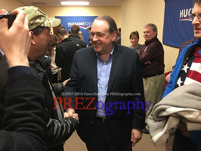 Mike Huckabee 99 County Party 1-8-16