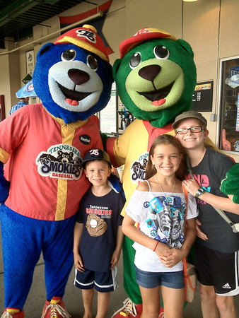 July 8, 2012 - Smokies Game