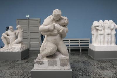 Vigeland Museum - Plaster casts of Granite