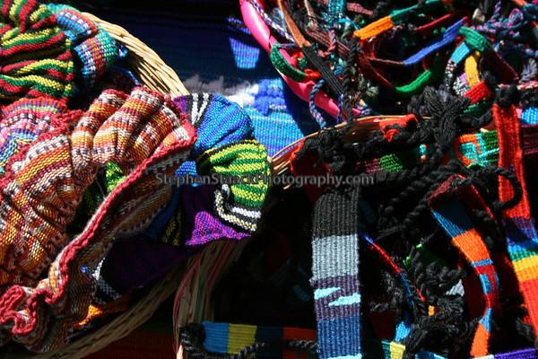 Guatemalan Textile Craft Photographs