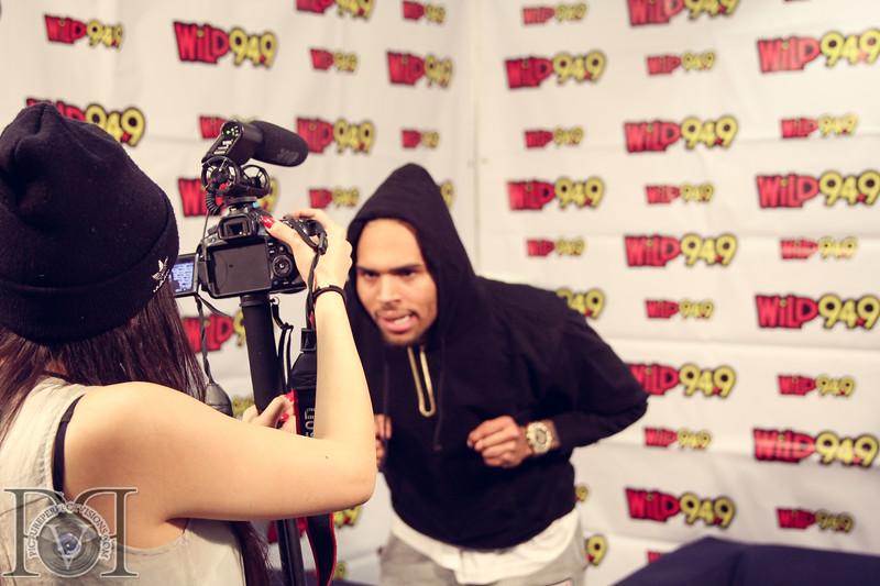 Wild Jam 2013 Nessa, Chris Brown, John Hart, Trey Songs Wild 949 465.jpg