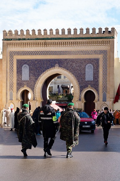 Blue Gate-Fes, Morocco