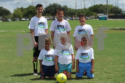 Simply Soccer Summer Camp 2017 week 3