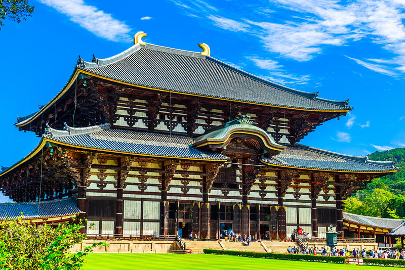 Todai-ji. Editorial credit: beeboys / Shutterstock.com