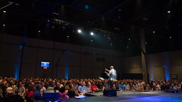 Blue Oaks Sunday Service - August 16, 2015