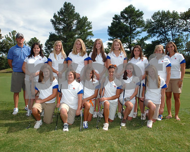 Marshall County Girls Golf Team  -  August 12, 2008