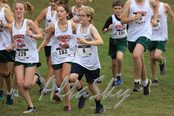 CROSS COUNTRY MIDDLE SCHOOL RACE 10-12-2017