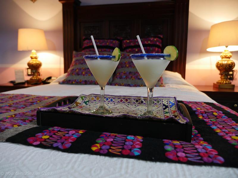 Margarita welcome drinks