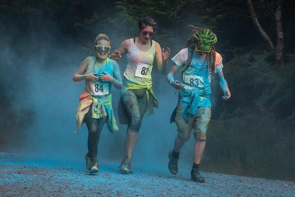 Colour Run - Coed y Brenin - 5kM Race