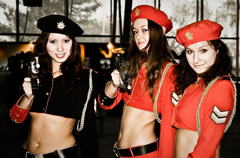 Red Alert 3 girls from Igromir 2008