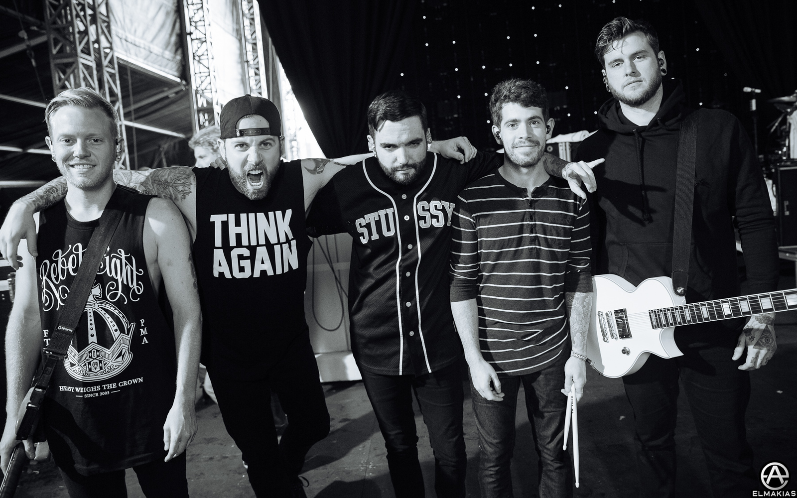A Day To Remember at Download Festival in Leicestershire, England