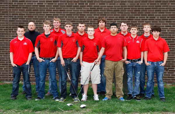 SN Boys Golf Team 2013