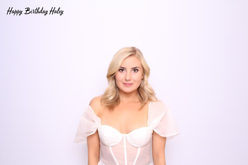 Happy Birthday Haley (Color SkinGlow Booth)