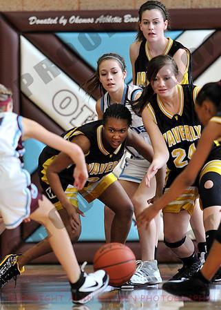 Girls JV Basketball - Waverly at Okemos - Jan 12