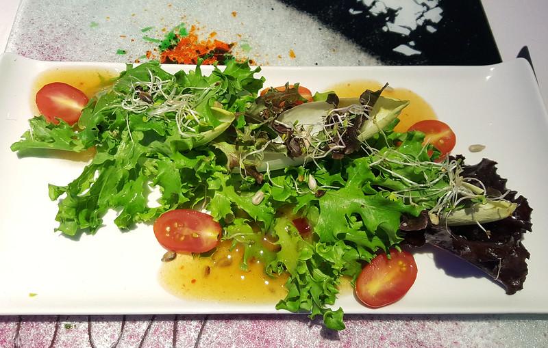 Vegan Dinner at Krystal Fusion Restaurant