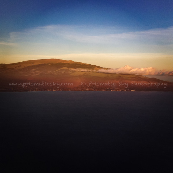 Haleakala at sunset