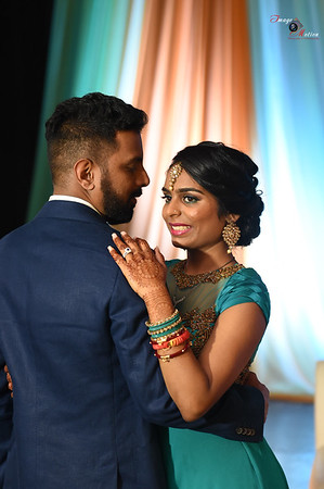 DIMPLE AND BHAVESH RECEPTION 1