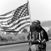 Flag Bearer _ bw