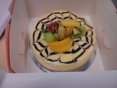 20130820 Birthday cake at work