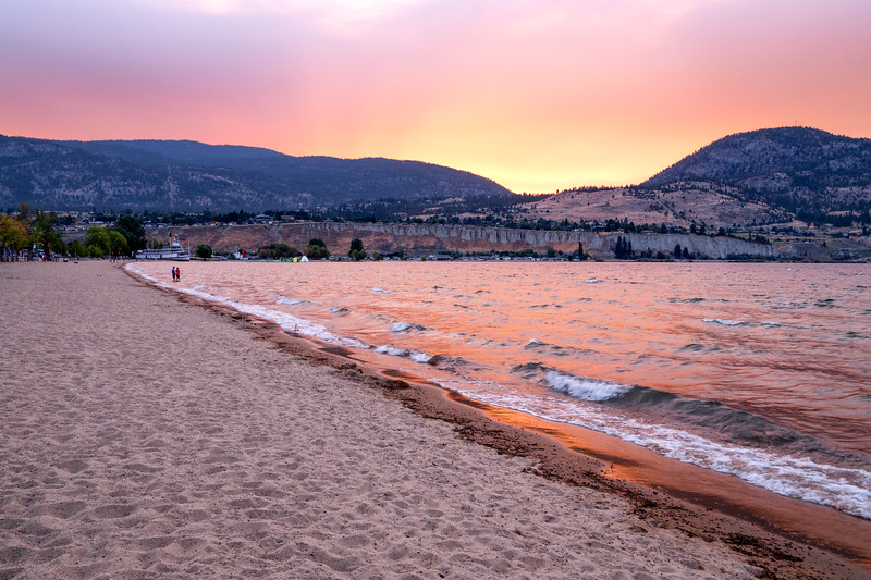 Day 242: Okanagan Lake Sunset