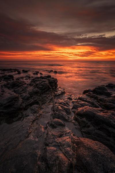 Rocky Baja Sunrise