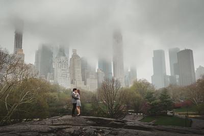 Mia + Ben // New York City Engagement