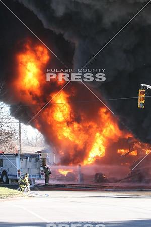 2015 Jenkins Tire Service Fire