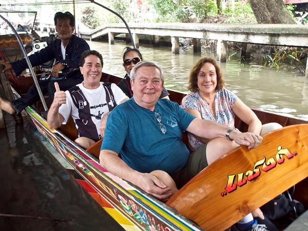 Original Floating Market Trip