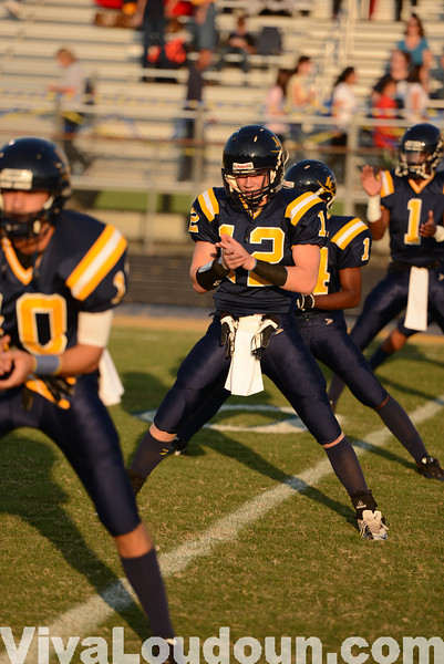 Football: Tuscarora at Loudoun County 9.21.12 (by Chas Sumser)