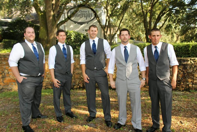 Dapper groomsmen at the Lange Farm, Dade City, FL