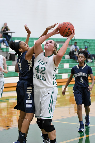 Hokes Bluff Lady Eagles vs. Jacksonville, February 10, 2017