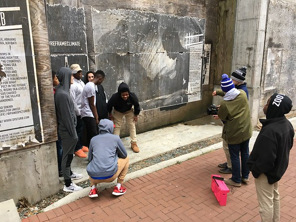 Tech Class Filming in C'ville